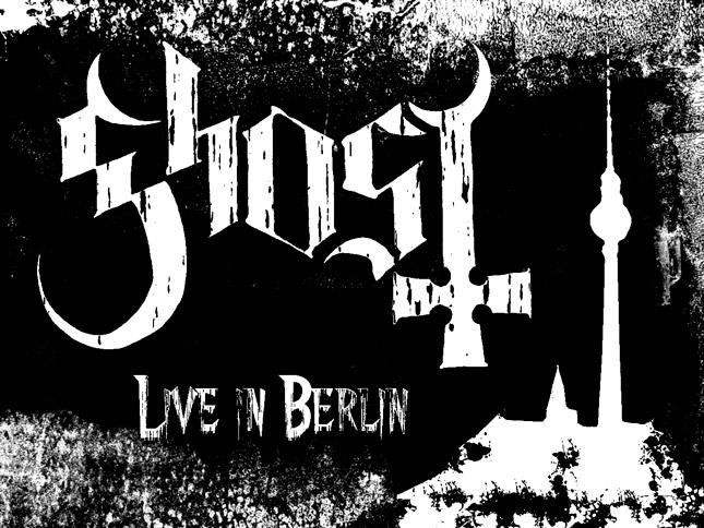 Ghost Live in Berlin - Konzertbericht